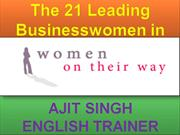 The 21 Leading Businesswomen in India
