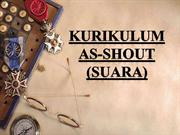 KURIKULUM SUARA
