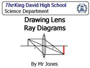 Drawing Lens Ray Diagrams