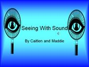 Seeing With Sound