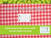 Eat like Durham does