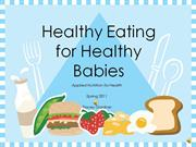 student version-Healthy eating for healthy babies (chapt11) [1]