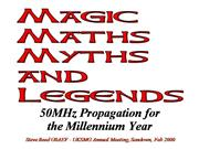 Magic Maths Myths and Legends