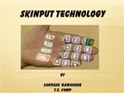 skinput technology