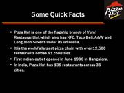pizza hut swot analysis and conclusion Essays - largest database of quality sample essays and research papers on swot analysis pizza hut.