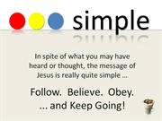 Simple - Keep Going