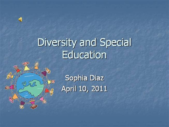 Diversity And Special Education Authorstream