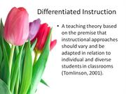 m12: differentiation and cooperative learning