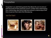 temptation - online adult dating personals