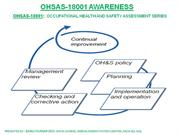 OHSAS-18001 AWARENESS TRAINING