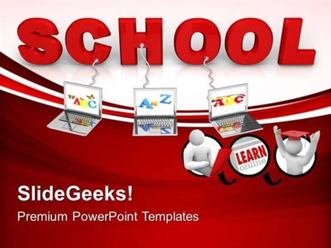Information technology multiple wired to school children ppt related powerpoint templates toneelgroepblik Images