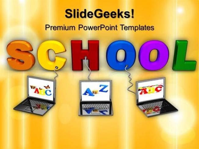 Information technology multiple wired to school education ppt related powerpoint templates toneelgroepblik Image collections