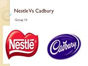 Nestle Vs Cardbury