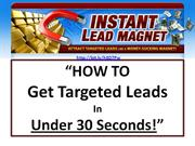 Lead Generation Marketing Software