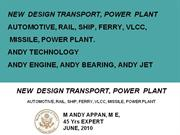 TRANSPORT  DESIGN  PPT