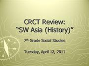SS7_CRCT Review - 2011-4-12