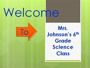 welcome 1st day of school powerpoint