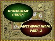 Facts about India.shine vayala