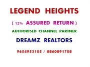 ASSURED RETURN PROJECTS IN GURGAON, CALL 9654953105, LEGEND HEIGHTS