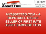 MyAssetTag.com – A Reputable Online Seller Of First-Rate Asset Barcode