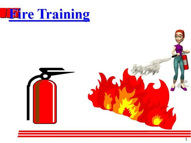Fire safety & fire extinguisher use. Objectives understand the.