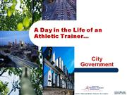 day in the life - city government - gary porter