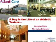 day in the life - hospital clinical - bagnato