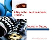 day in the life - industrial - craig halls