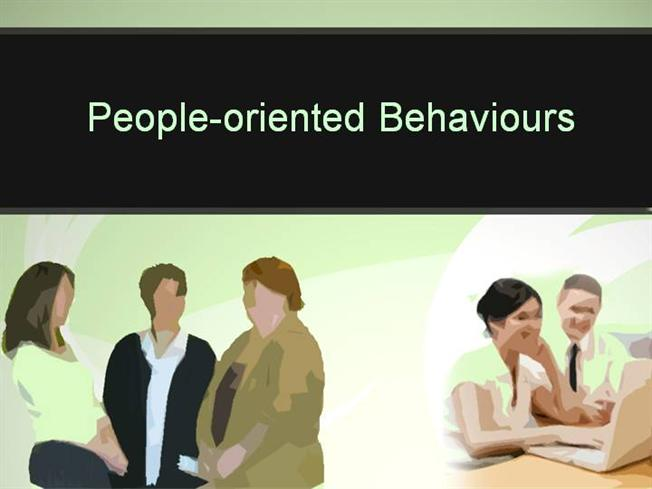 oriented person