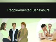 People-oriented Behaviours