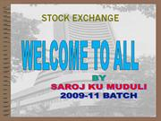 SAROJ MUDULI-STOCK EXCHANGE