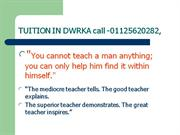 TUITION  Home Tuition by School Teacher (since 1986)9350020282