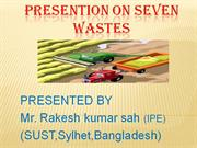 PRESENTION ON SEVEN WASTES