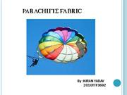 parachute fabric ppt