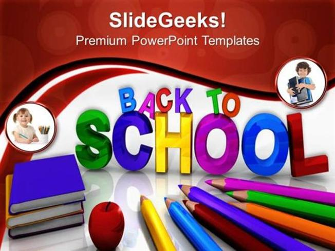 EDUCATION BACK TO SCHOOL EDUCATION FUTURE PPT TEMPLATE