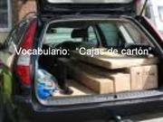 Vocabulario cajas de cart�n