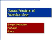 General Principles of Pathophysiology