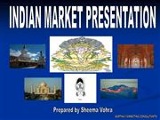 Indian Market Presentation