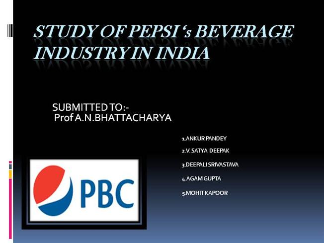 pepsi case study 19 This current paper examines the case study of coca cola and pepsi cola wars to develop a stunning case study for management and marketing 5-19 http://dx.