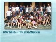 CAS Week in Cambodia