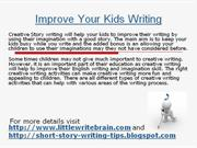 Improve Your Kids Writing Skill