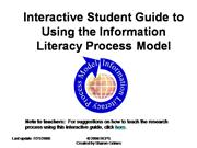 Interactive Student guide