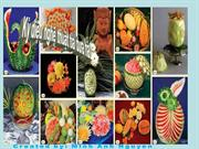 amazing watermelons carving