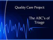 Quality Care Project