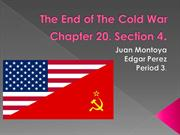 The End of The Cold War. Period 3