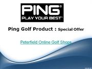 Ping Golf Products – Special Offers
