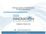 Wit Innovations_Product Showcase