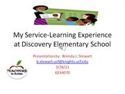 My Teaching Experience at Discovery Elementary School
