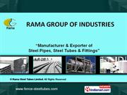 Rama Steel Tubes Limited Delhi  India