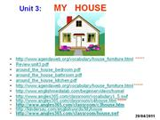 Let's Go 2 - Unit 3 - My house